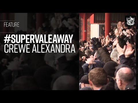 #SuperValeAway - Crewe Alexandra