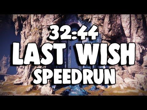 Last Wish Raid Speedrun in 32:44 | Destiny 2