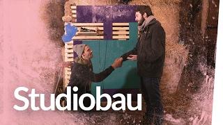 Was mit Fabian bauen – Die Studiowand | Kliemannsland