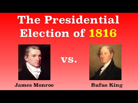 The American Presidential Election of 1816