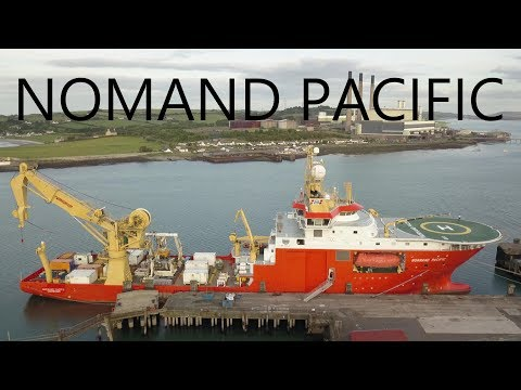 Normand Pacific, Larne Harbour (August 2017)