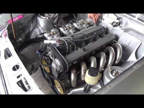 プリンスS54R RB33エンジン始動