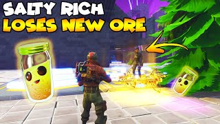 Salty Rich Scammer Loses New ORE! 💯😱 (Scammer Gets Scammed) Fortnite Save The World