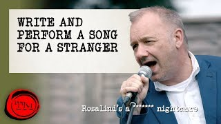 Write And Perform A Song For A Stranger - FULL TASK