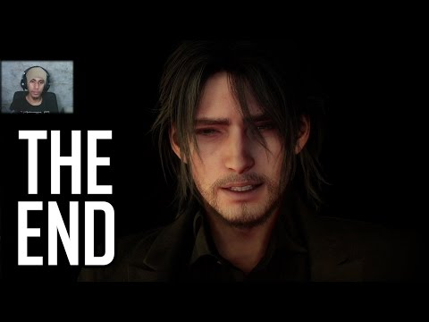 FINAL FANTASY XV - ENDING Scenes + After Credits Reaction |