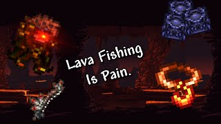 Fishing for a Ląva Charm in a nutshell...