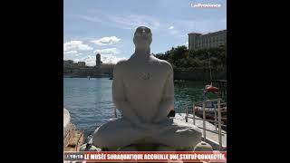 Marseille : le musée subaquatique accueille une statue connectée