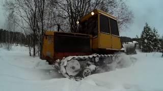 ДТ-75. За дровами