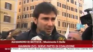 Alessandro Di Battista (M5S): Rai News