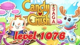 Candy Crush Saga Level 1076 - ★★★