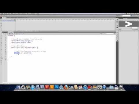 Game Development in AS3 Part 1 - Setting up an AS file