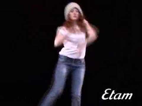 Groovy Dancing Girl for Etam 1