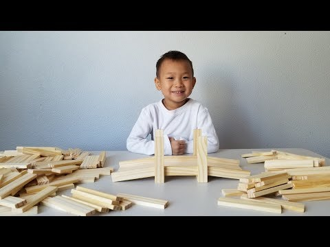 Unboxing Brain Blox Wooden Building Planks Educational Toys
