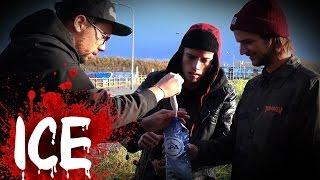 ICE: BAKING SODA EN AZIJN BOM || #ZU5E