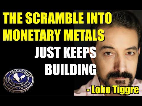 THE SCRAMBLE INTO MONETARY METALS JUST KEEPS BUILDING   Lobo Tiggre