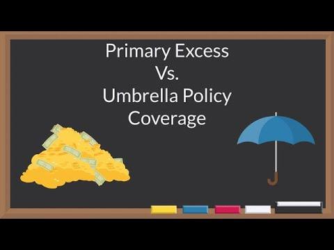 #IQ #PrimaryExcess #Umbrella Primary Excess Vs Umbrella Policy Coverage (Liability Insurance)