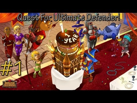 Dungeon Defenders! Quest For Ultimate Defender! Myth Grindin