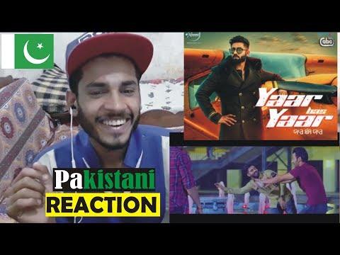 Pakistani Reaction on Yaar Bas Yaar : Harsimran : Latest Punjabi Songs