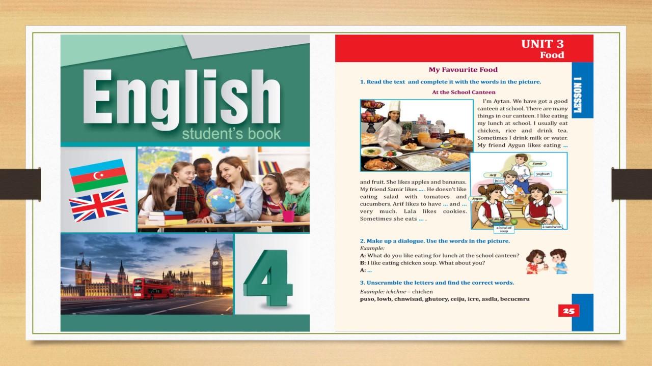 4cu Sinif Ingilis Dili Unit 1 Lesson 4 By Aygul Zeki
