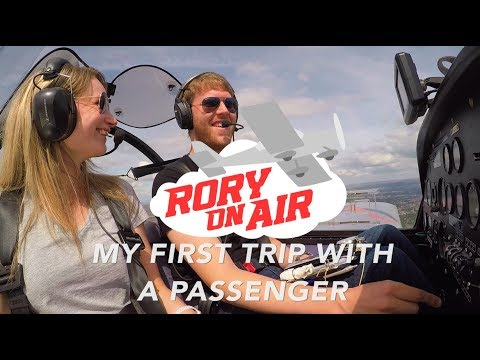 My wife is my first passenger | Microlight flight from Barton | ATC Audio