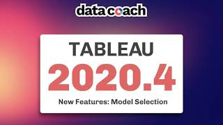 Tableau 2020.4: How To Use The New Predictive Model Functions In Tableau