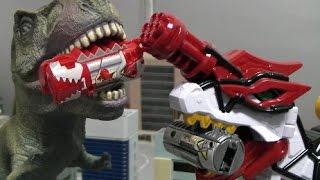 Power Rangers Dino Charge Mini Megazord Toys  파워레인저 다이노포스 미니 로봇 장난감