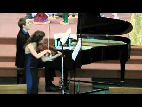 Anna Cashell & Simon Watterton play Mozart Violin Sonata in G KV301