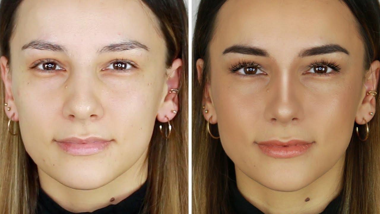 Wie man die Wangenknochen des Gesichts verdünnt