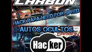 Hack Para Need For Speed Carbono Desbloquear Todo + Carros Ocultos