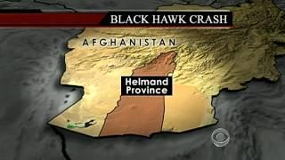 Blackhawk crash in Afghanistan