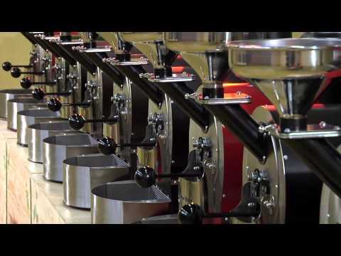 La tostatura del caffe dalle origini alla tazzina, Roasting coffee from its origins to the cup,