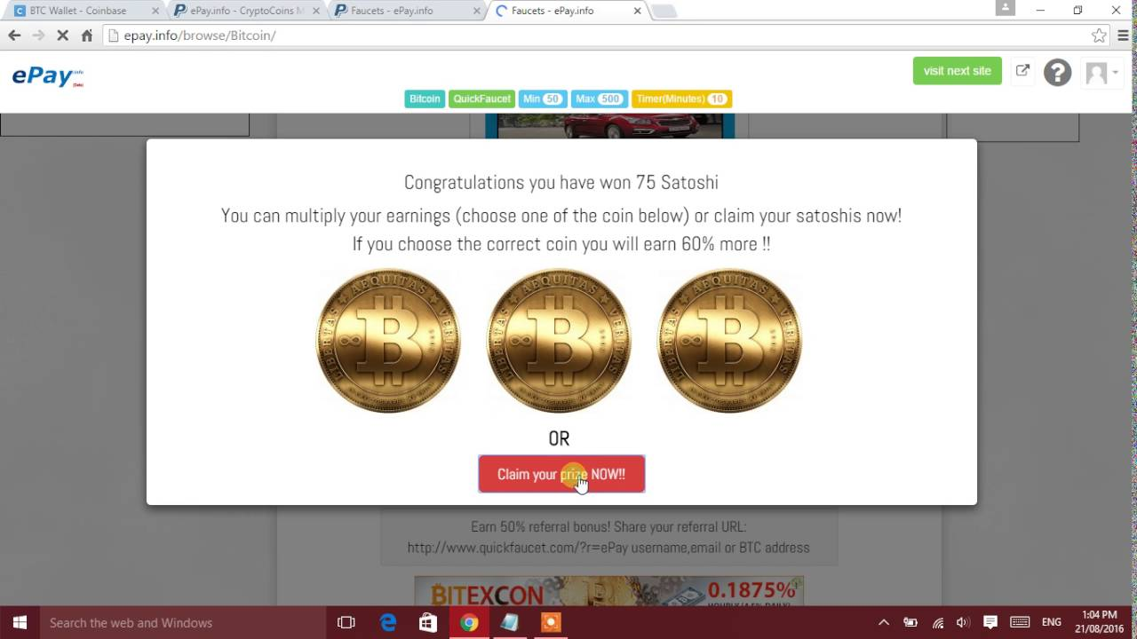 How to earn upto 1 btc per day 100%