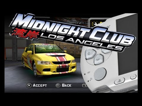 All Midnight Club Games For PSP Review