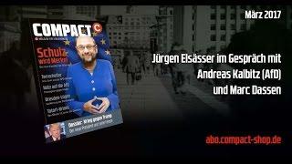 """""""Martin Schulz wird Angela Merkel"""" Diskussion zu COMPACT 3/2017"""