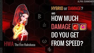 Summoners War | How To Rune Hwa [Hybrid or Damage-build?] - Stafaband