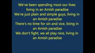 Amish Paradise Lyrics
