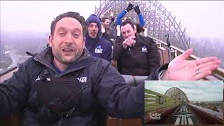 Riding STEEL VENGEANCE with LIVE play-by-play commentary at Cedar Point! thumbnail