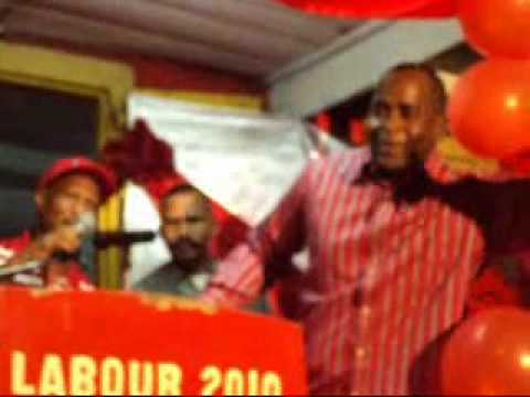 LABOUR PARTY MEETING LAGON ROSEAU