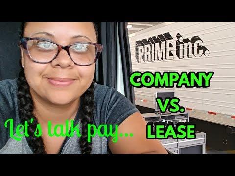 My Trucking Journey (Ep.042) 6/4/18 💰MONEY💰 Company vs. Lease - Prime Inc.