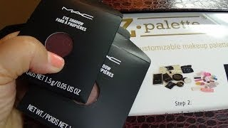HAUL: MAC and ZPalette Mini-Haul Thumbnail
