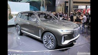 Новый BMW X3, впервые BMW X7 на стенде BMW во Франкфурте.