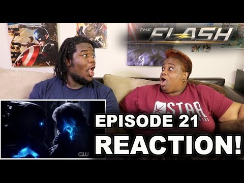 The Flash Season 3 Episode 21 : REACTION WITH MOM!