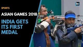 Asian Games 2018: Apurvi Chandela & Ravi Kumar give India first medal
