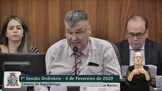 01ª Sessão Ordinária 2020