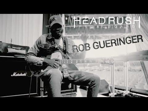 Le Rob Noire Musicien La Pedalboard De Du Gueringer Boite AL54Rj