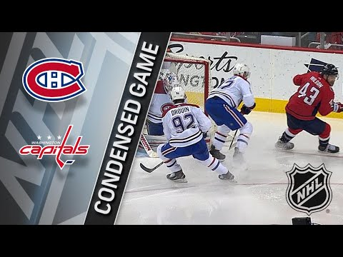 01/19/18 Condensed Game: Canadiens @ Capitals