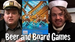 Drunk Lifeboats - Beer and Board Games