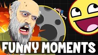 AGARIO IN HAPPY WHEELS | Happy Wheels Funny Moments