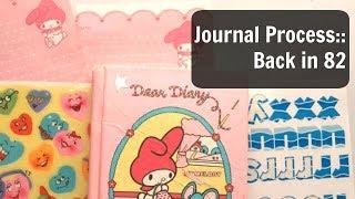 Junk Journal With Me: Journal Process Video: Art Journalling
