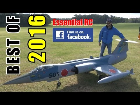 ③ BEST OF ESSENTIAL RC 2016 | LARGE SCALE AND FAST RC ACTION